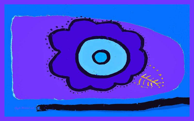 Little Fern (blue)